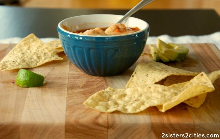 slow cooker chicken tortilla soup- an easy, healthy, and delicious ...