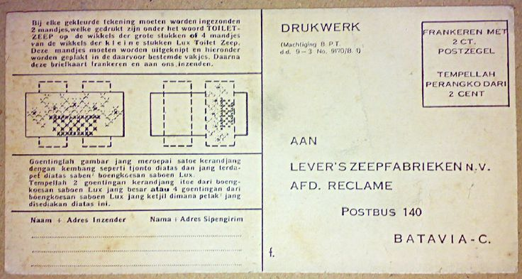 Perloembaan mewarnaken dari saboen Lux, ca.1939