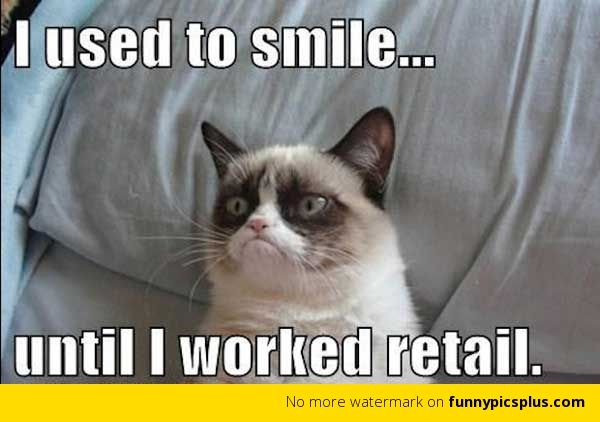 Funny Work Quotes | Working in Retail | Funny Pictures