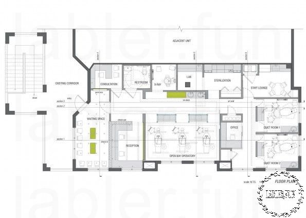 Original Floor Plans For My House Uk Small Office Design Hospital Design Dental Office Design