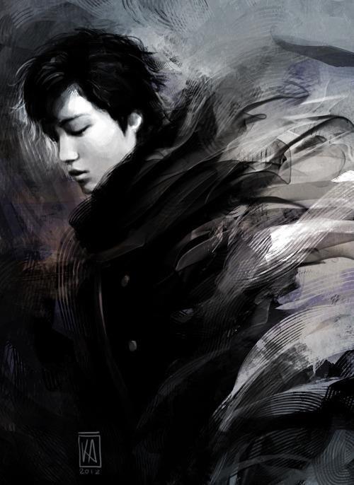EXO - KAI Exceptional fan art!