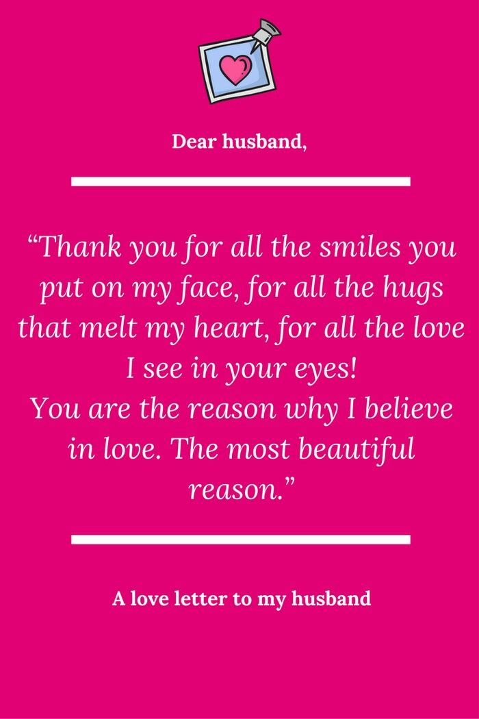 Pin by Marita Osin on Love Love letter for husband, Letters to my