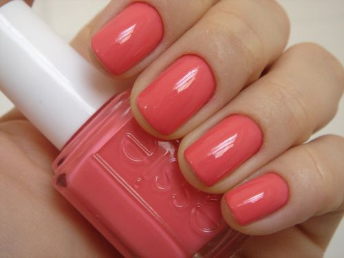 """definitely """"cute as a button""""...beautiful spring/summer color!!!Nails Design, Nails Colors, Spring Colors, Nailpolish, Summer Nails, Vintage Bicycles, Nails Polish, Summer Colors, Coral Nails"""