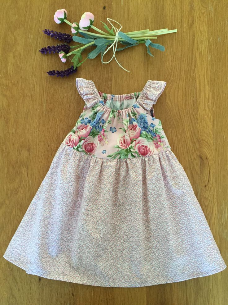 Girls Party Dress Size 6 Months by HarryandroseDesigns on Etsy