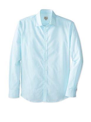 63% OFF Mason's Men's Striped Long Sleeve Sportshirt (Green)