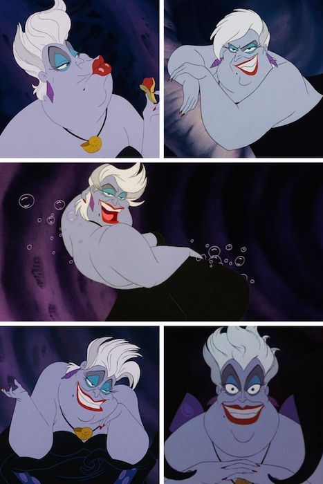 Seriously, Ursula is the BEST villain! She's been one of my favoritest Disney characters since I was little–she is such a sassy badass!