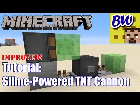 how to make the best tnt cannon in minecraft