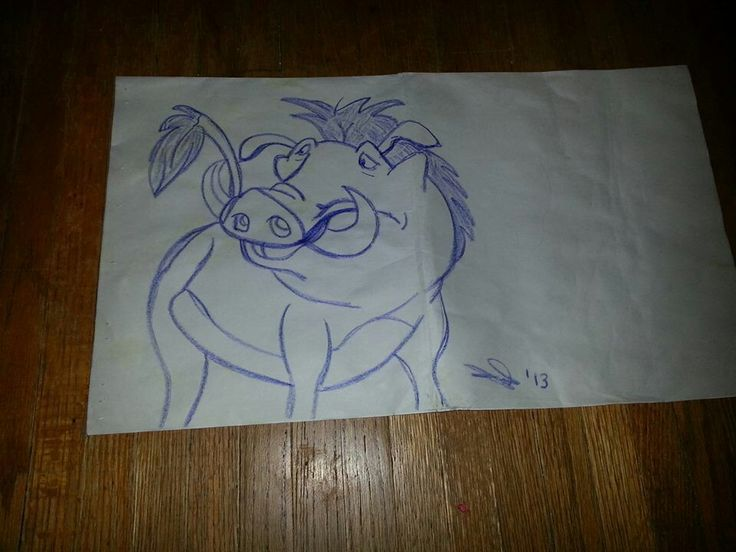Pumbaa from,Lion King