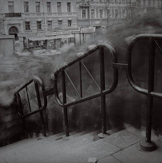 Alexey Titarenko, From City of Shadows series, 1992-1994
