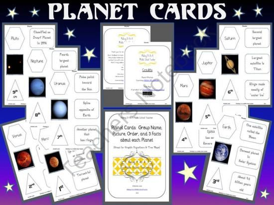 Classroom Organization Ideas 4th Grade ~ Your teacher s aide free solar system worksheets