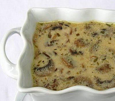 Tejszínes-tárkonyos gombaleves recept | Rita konyhája - receptek