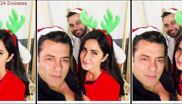 Salman Khan Katrina Kaif FUNNY Christmas VIDEO with Photographer