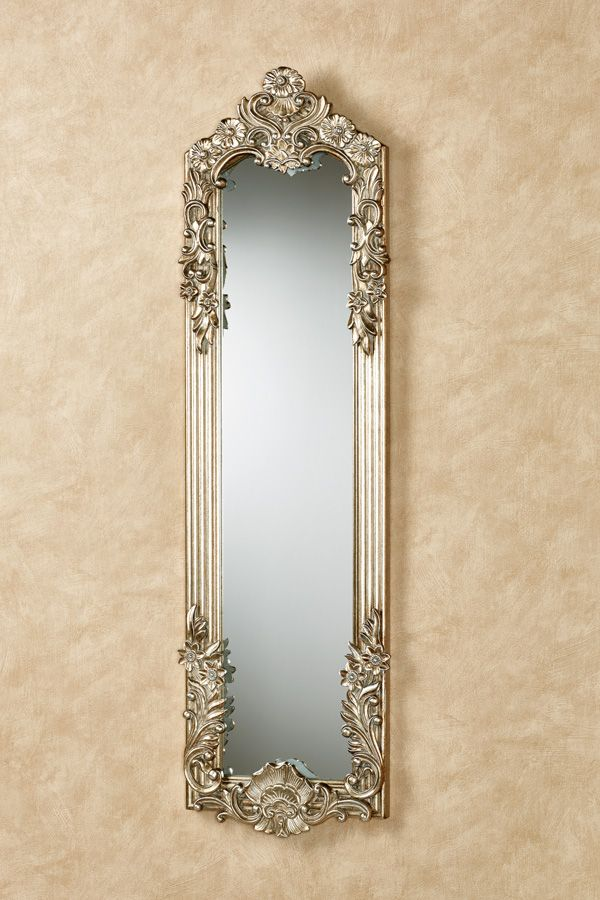 The Gadsden Small Floral Wall Mirror Is Adorned With Flowers Petals And Scrolls The Resin Frame With Decorative Accents Is F Mirror Wall Mirror Mirror Decor