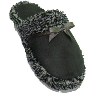 Madness Ladies Grey Slippers (52361) Madness. $6.99
