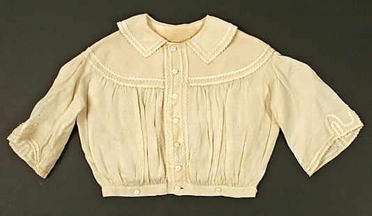 19th Century Women Lace Or Silk Blouses 97