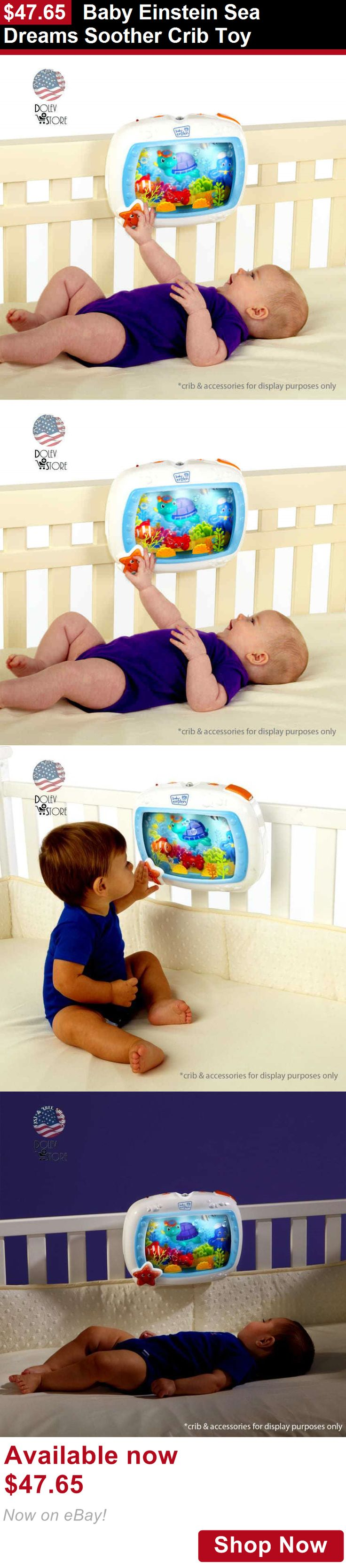 Crib Toys: Baby Einstein Sea Dreams Soother Crib Toy BUY IT NOW ONLY: $47.65