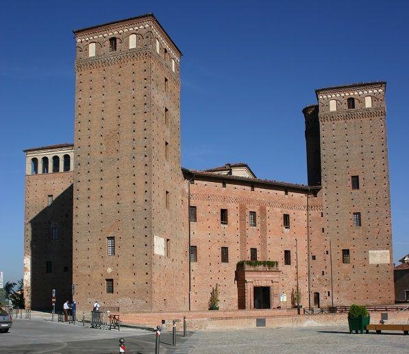 Castello dei Principi d'Acaja-Fossano. (CN)