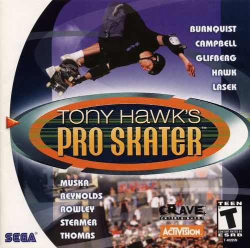 Complete Tony Hawk's Pro Skater - Dreamcast Game
