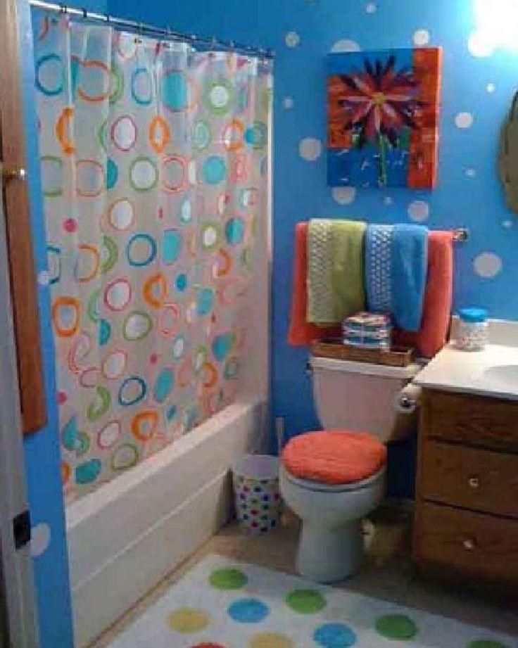 Kids Bathroom Paint Bathroom Pinterest Kids Bathroom Paint Kid Bathrooms And Girl