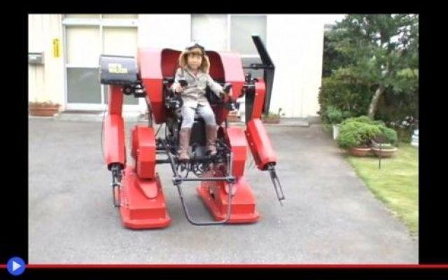 La ricreazione robotica dei mecha-bimbi giapponesi #giappone #mecha #giocattoli #tecnologia