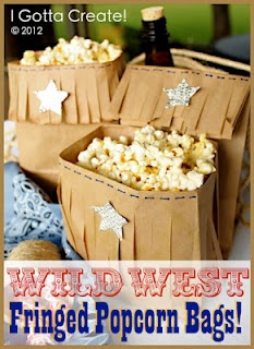 I Gotta Create!: {DIY} Western Treat Bags