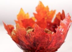With Thanksgiving just two weeks away, it's the perfect time to add this DIY leaf bowl to your craft to-do list! Check out this tutorial to make your own.