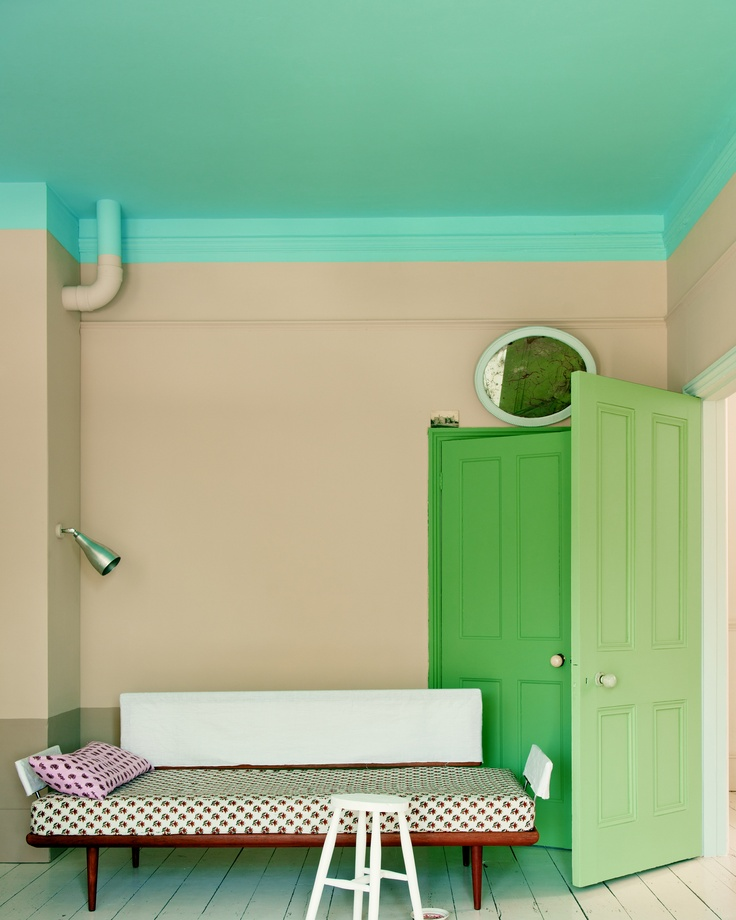 Farrow and Ball Oxford stone paint color