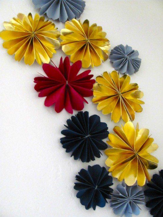 136 best decorating ideas images on pinterest shop - Arbol de navidad de origami ...
