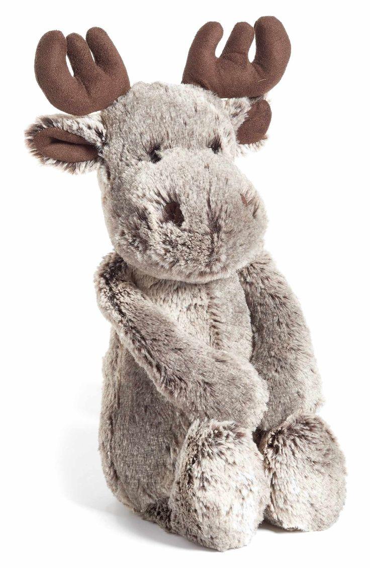 Main Image - Jellycat 'Woodland Babe Moose' Stuffed Animal