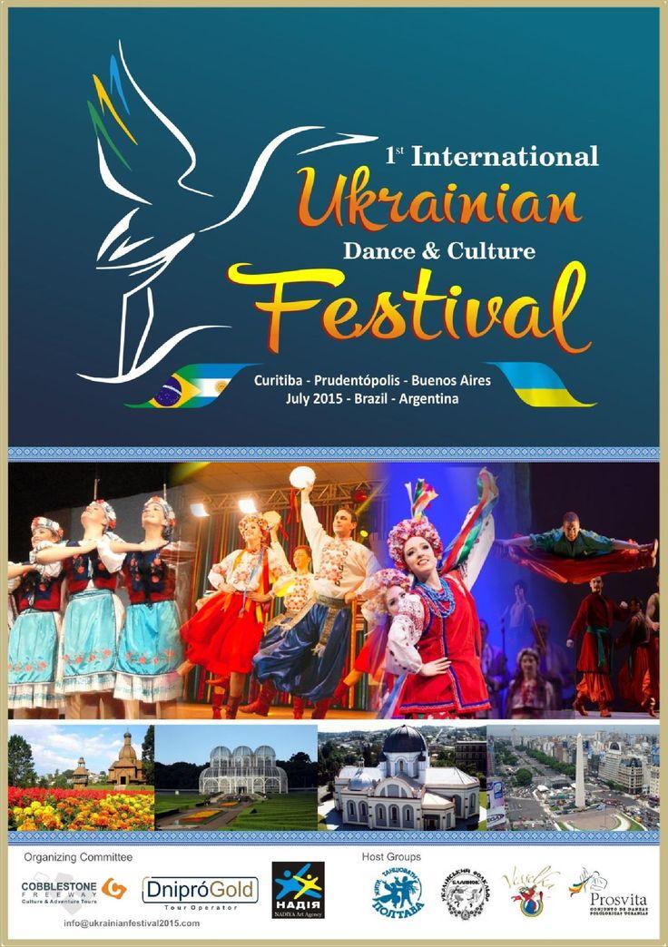 1º International Ukrainan Festival Oficial - Nadiya - Rio de Jaineiro - Foz do Iguaçu | PDF Flipbook