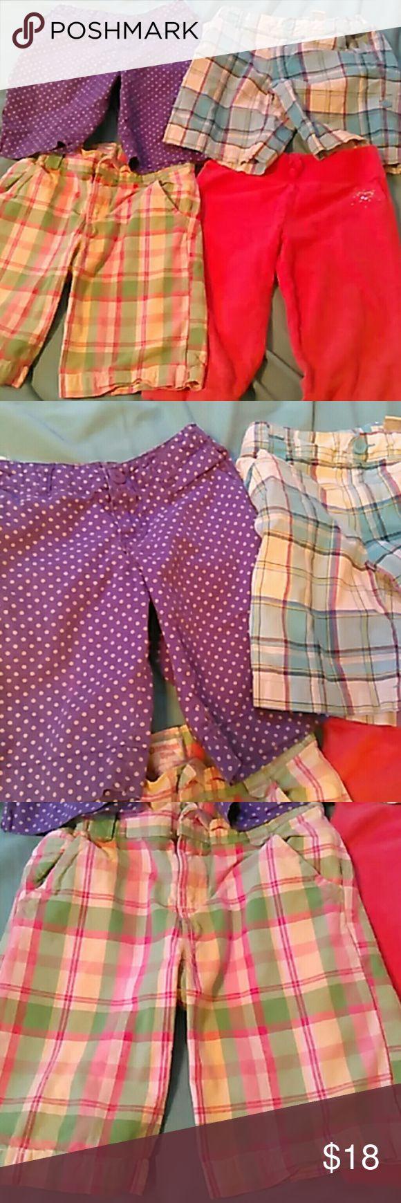 Lot of 4 Girls Shorts Size 7 Jumping Beans, Osh Kosh, Arizona, and Cherokee brand shorts in great condition! Osh Kosh Bottoms Casual