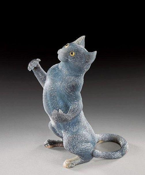 Обезьяны, улитки и жабы – фантастические создания из бразильского агата. - Все интересное в искусстве и не только.
