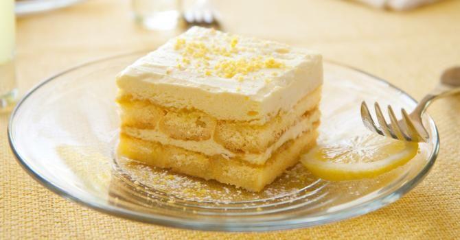 Recette de Tiramisu léger au citron. Facile et rapide à réaliser, goûteuse et diététique. Ingrédients, préparation et recettes associées.