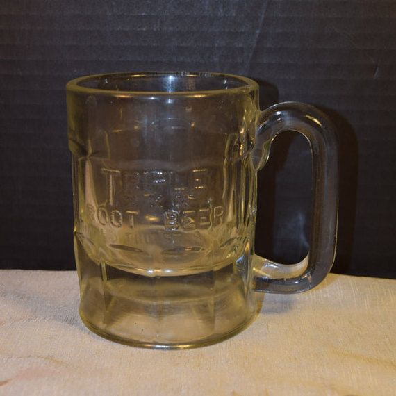 Triple XXX Root Beer Mug Vintage Embossed by ShellysSelectSalvage