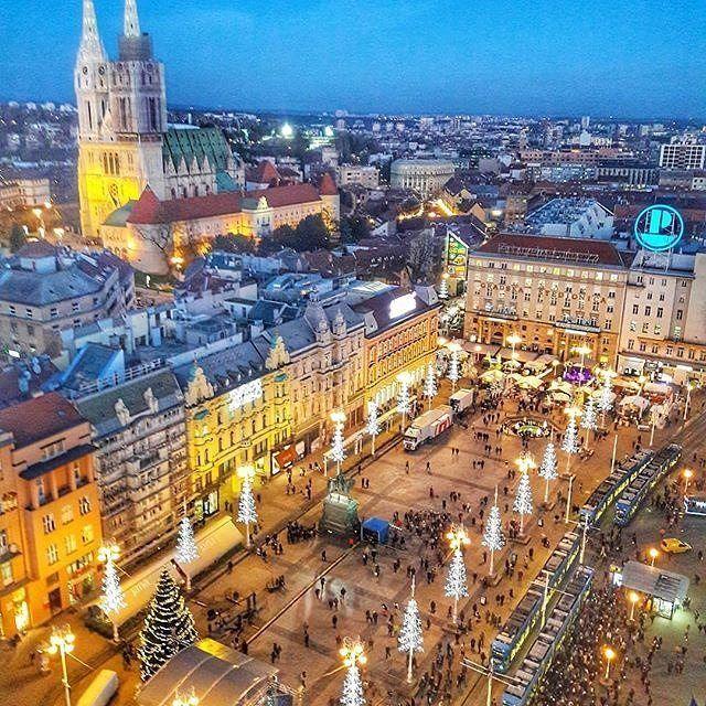 Pin By Mirjana Vrcek On Zagreb Advent 2018 Zagreb Croatia Wonders Of The World