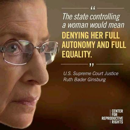 My favourite U.S. Supreme Court Justice.  We need more like her on the bench.