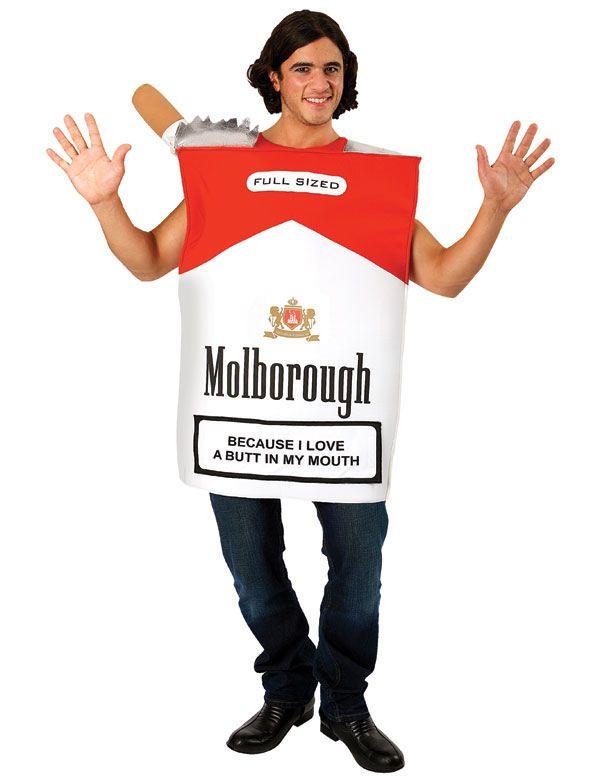 Škatulka cigariet kostým