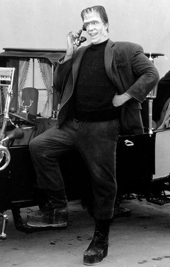 Herman Munster played by Fred Gwynne