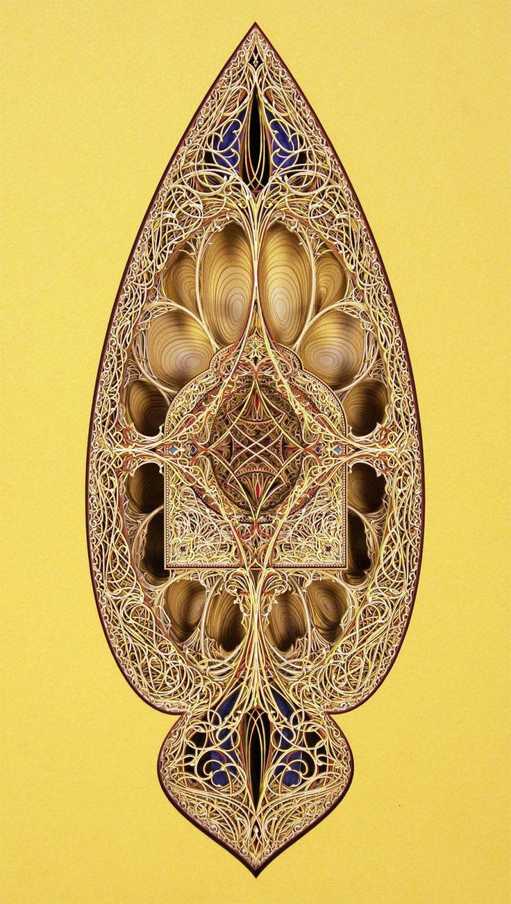 Best Eric Standley Lasercut Paper Art Images On Pinterest - Beautiful laser cut paper art eric standley