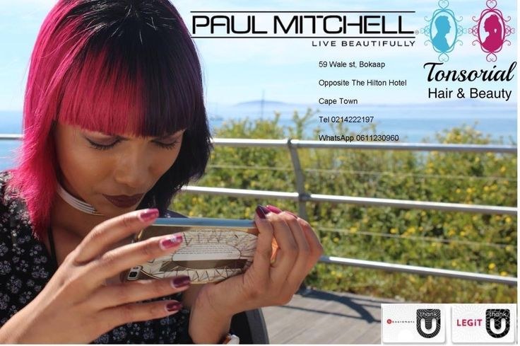 #popxg in #Bokaap #Capetown #Tonsorialhair #Salon #Hair Aunthentic #PaulMitchell from Wash Basin to the #Style Station #Edcon swipe facility available