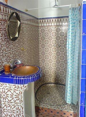 ванная комната в марокканском стиле 10