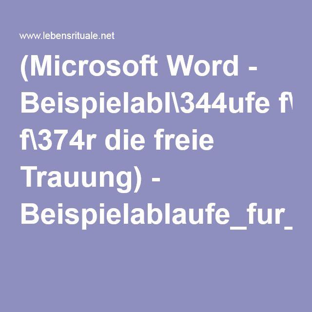 (Microsoft Word - Beispielabl\344ufe f\374r die freie Trauung) - Beispielablaufe_fur_die_freie_Trauung.pdf