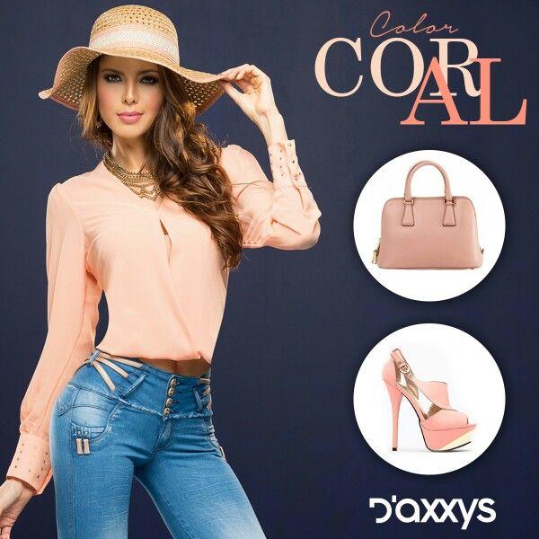 Tu  #EstiloDaxxys con nuestra #BlusaFrida. Combínala con tu #Jean preferido y luce tu #moda #Casual #Elegante