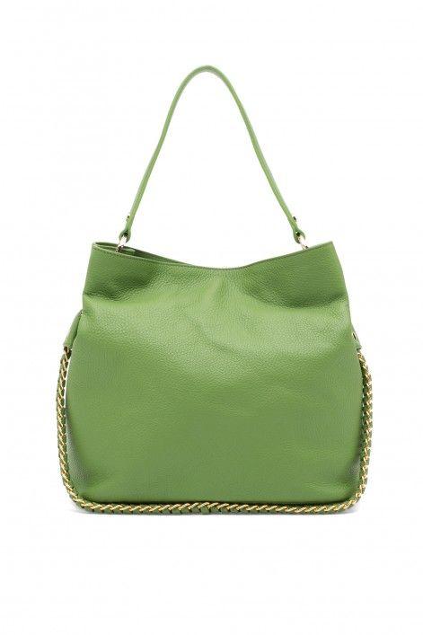 Luisa Spagnoli leather tote bag