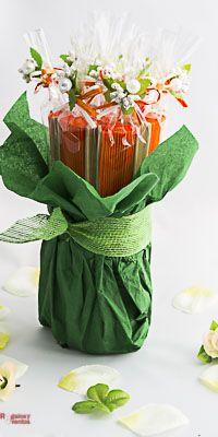 Abanicos para boda.Centros de mesa.Ramos florales con abanicos.Detalles para boda
