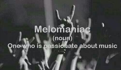 (n.) one who is passionate about music