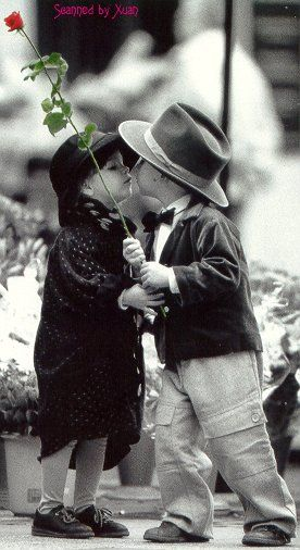 how to give a kiss to a boy