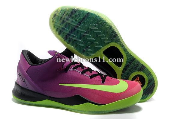 cheap kobe system mc Sale Mens Nike Kobe 8 System MC Gradual Change Pink/ Purple