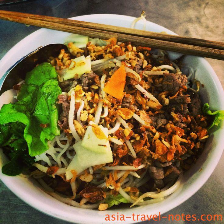 Bun Bo Nam Bo - Best noodles in #Hanoi #vietnam