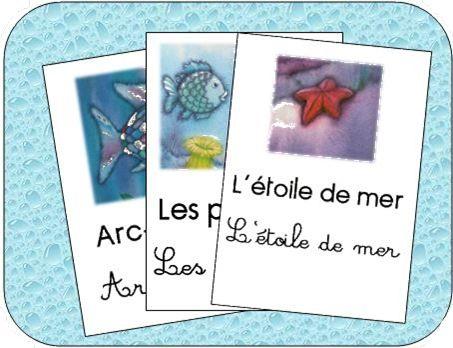 Lecture cycle 1 et 2: arc en ciel le plus beau poisson des océans fiches de lecture et référents http://cliscachart.eklablog.com/lecture-arc-en-ciel-le-plus-beau-poisson-des-oceans-a108257538